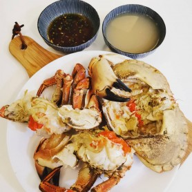 Cooked Brown Crab per Piece
