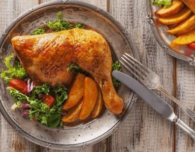 Whole Leg Chicken Recipe